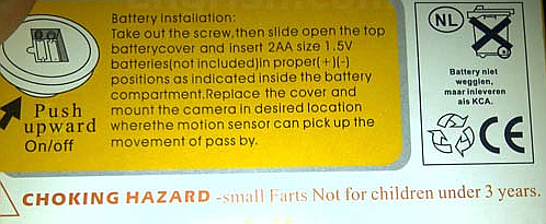 Example of poorly translated instructions from Engrish.com