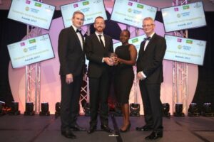 The category 'Excellence in CSR by an SME' was won by Earth's Edge 'Kilimanjaro Equipment Lending Programme'.