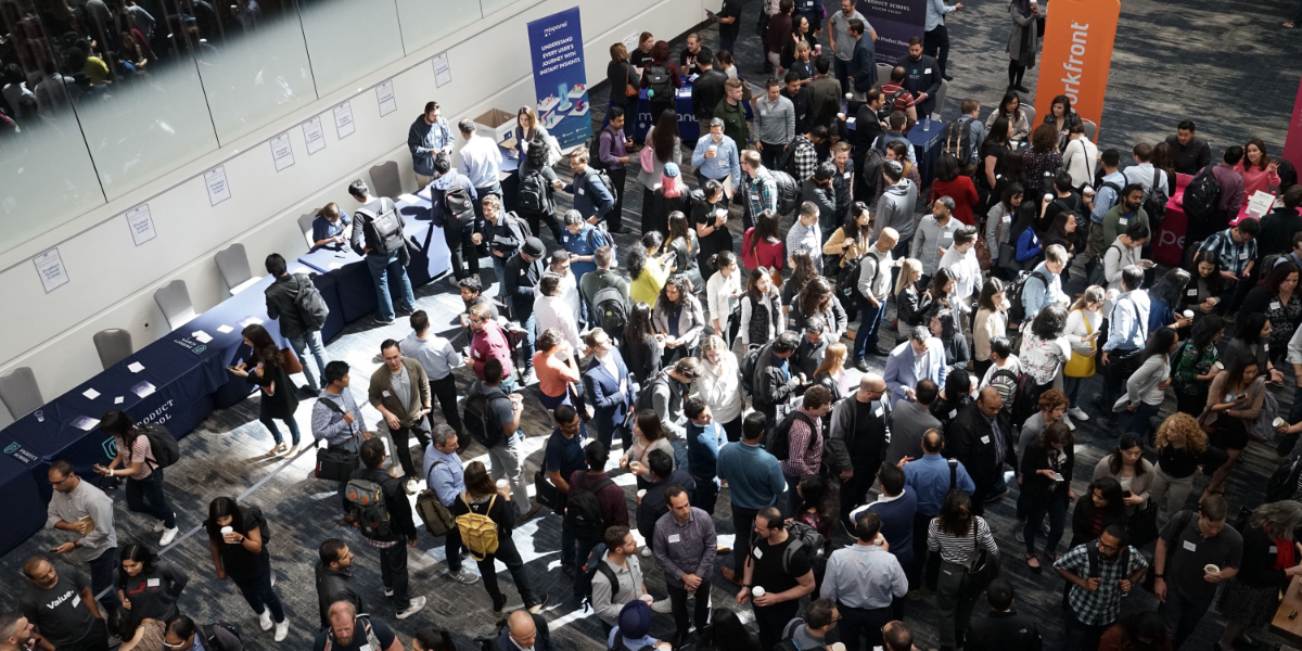 People at a conference promoting enterprise excellence
