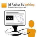 I'd Rather Be Writing Podcast logo