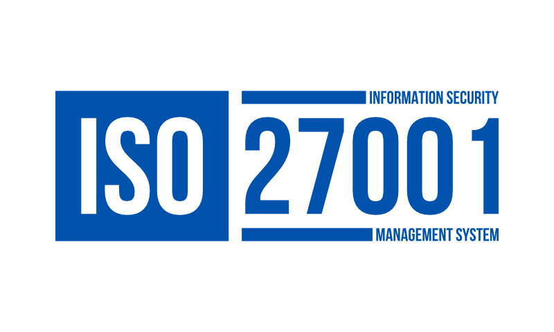 ISO 27001 means your information is secure with us.